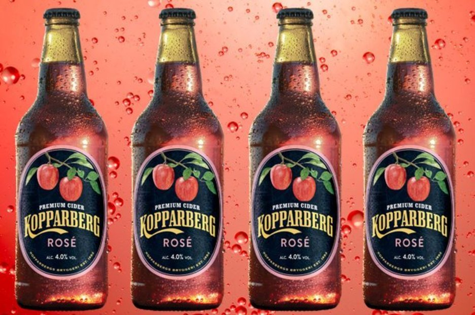 Kopparberg's new rosé cider is finally available in UK supermarkets