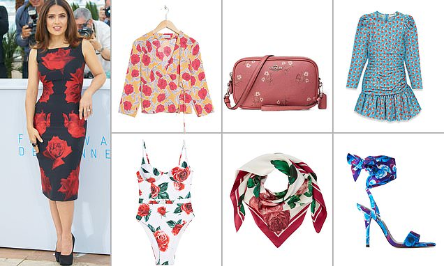 FEMAIL reveals how to look fabulous in rose florals this summer