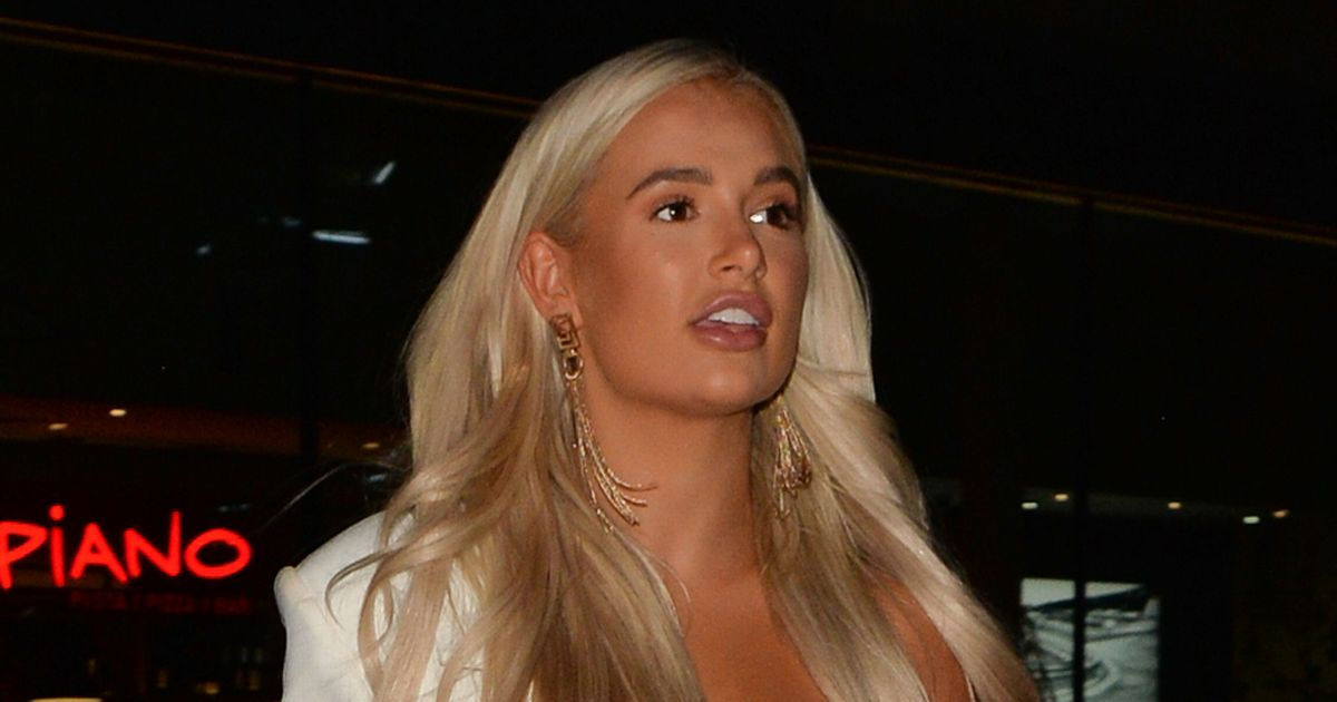 Molly-Mae's face of thunder as she goes on triple date with Tommy Fury