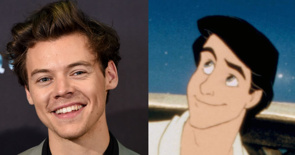 Harry Styles Turned Down the Role of Prince Eric in The Little Mermaid — and Twitter Will Not Accept This