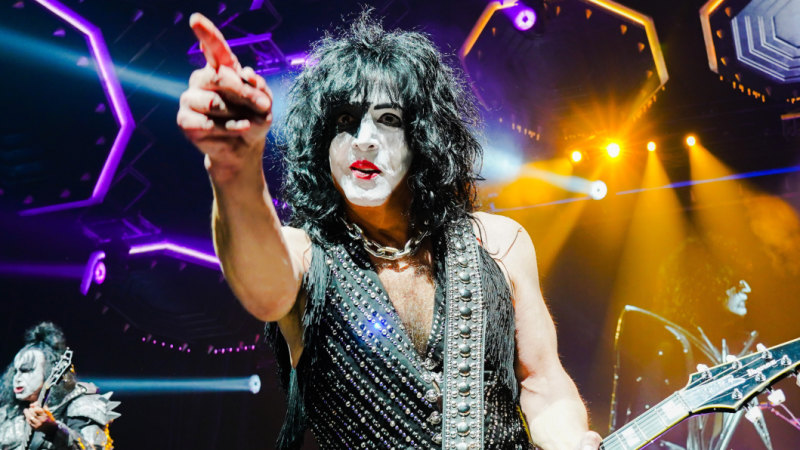 Kiss singer takes break from school duties for one last 'victory lap'