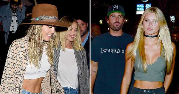 Miley Cyrus, Kaitlynn Carter Hit Up Same Club as Brody Jenner, New GF Josie