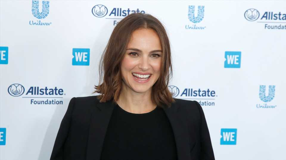Natalie Portman Was Just Spotted at Disneyland with Her Kids