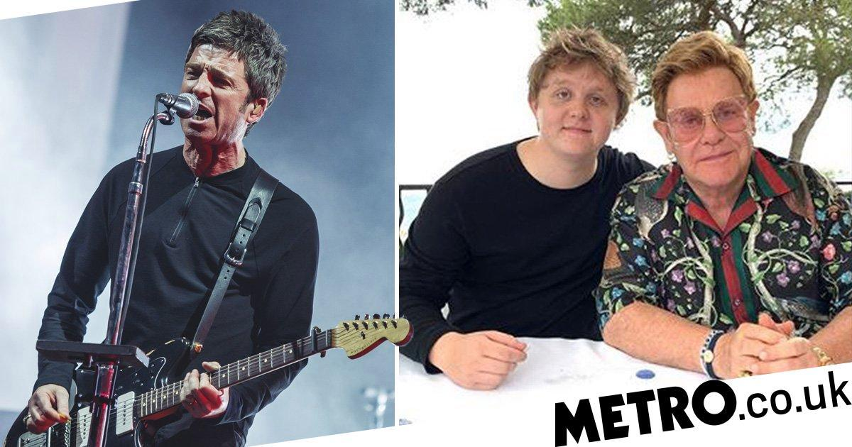 Noel Gallagher who? Lewis Capaldi moves on from feud and hangs with Elton John