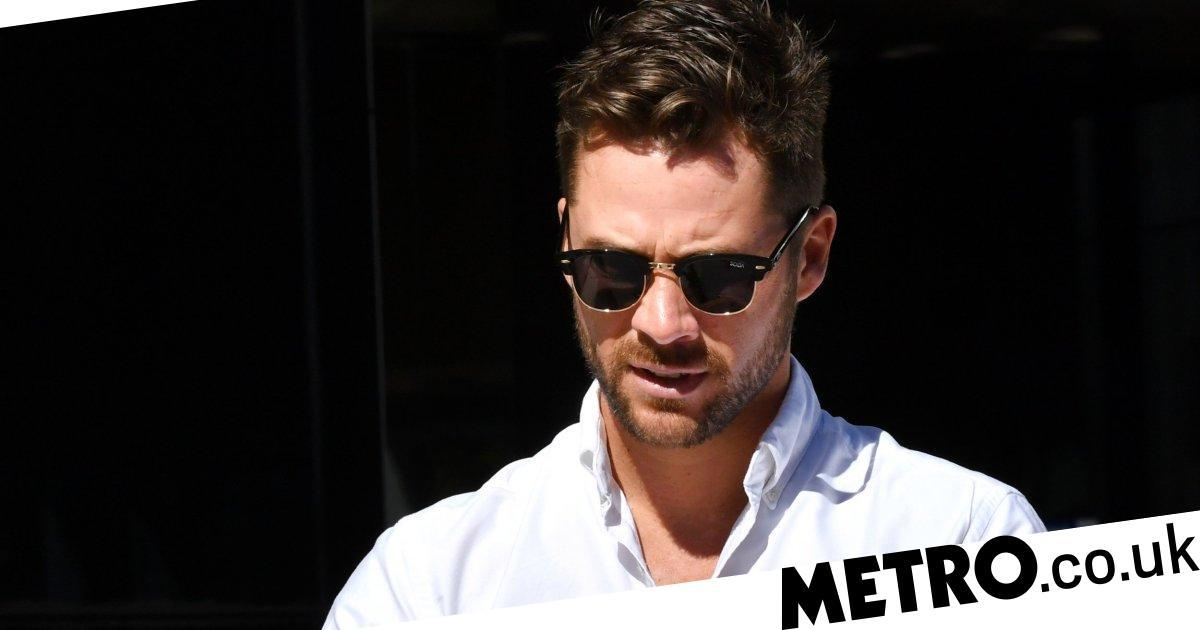Neighbours star Scott McGregor at court after 'being glassed in strip club'