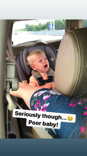 Jill Duggar's Followers Have Mixed Feelings About Her 'Funny' Instagram Story of Her Son Crying