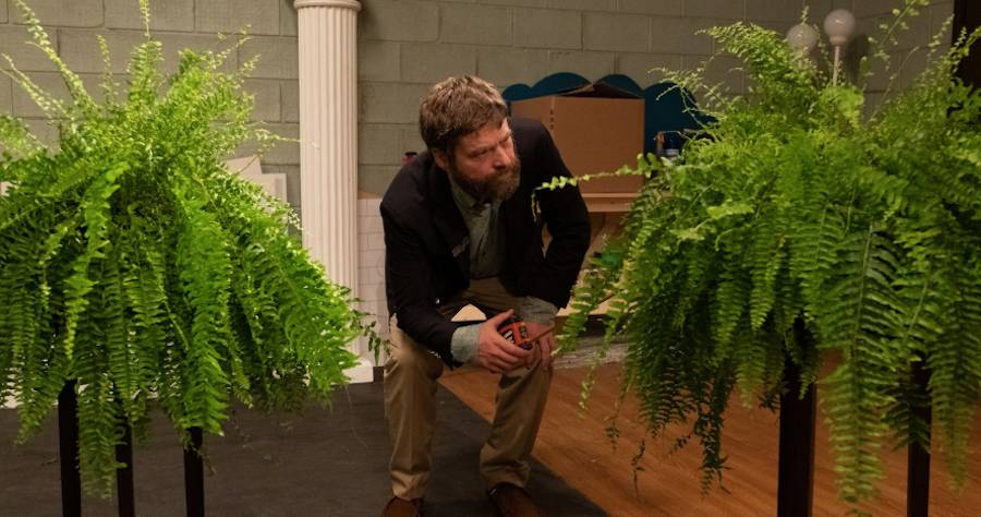 First Look Photos Reveal Zach Galifianakis's 'Between Two Ferns' Movie
