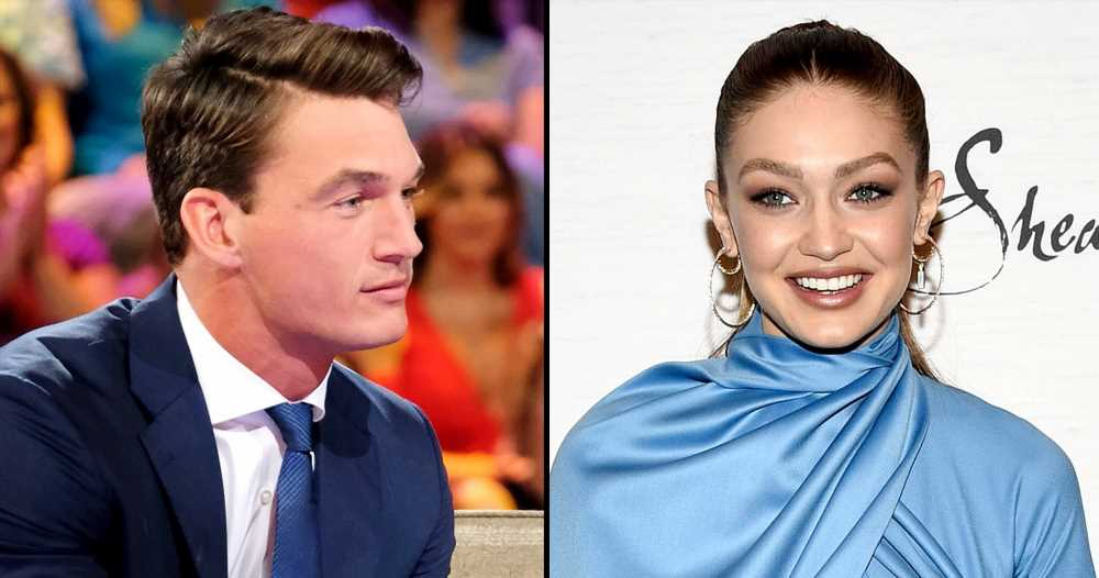Tyler Cameron Dodges Gigi Hadid Question in 1st Interview Since Being Linked