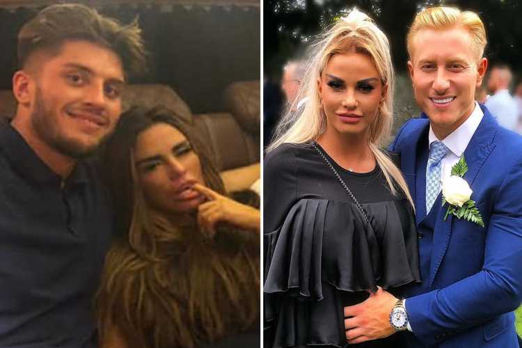 Katie Price met new builder toyboy as he worked on her mucky mansion – and flirted with her right in front of 'fiance' Kris Boyson