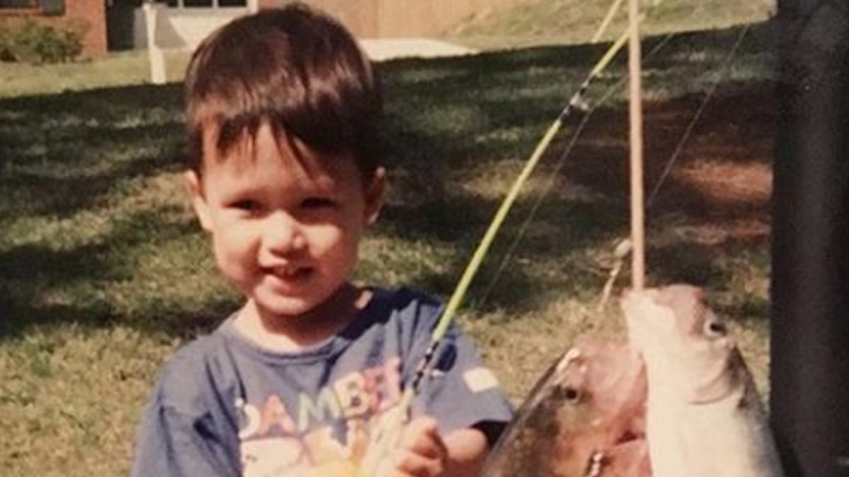 Guess Who This Fishin' Fella Turned Into!