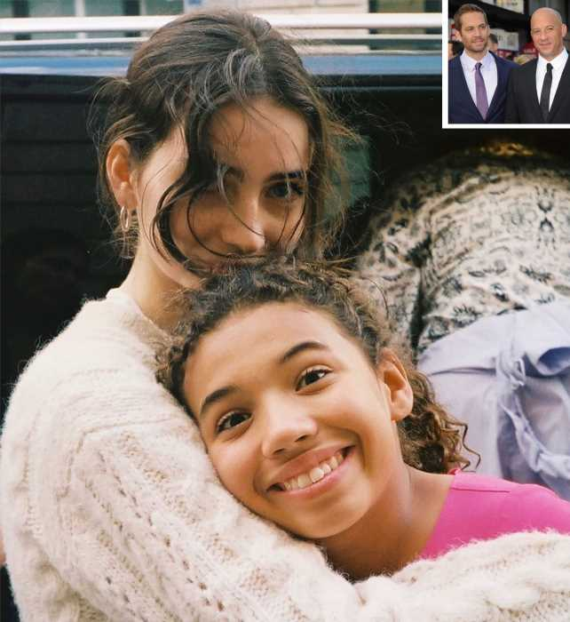 Paul Walker and Vin Diesel's Daughters Pose Together in Heartwarming Photo: 'With My Angel'