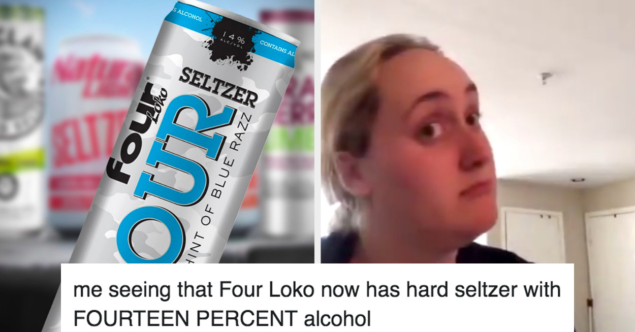 Four Loko Just Revealed A Hard Seltzer, So Here Are The Best And Funniest Tweets About It