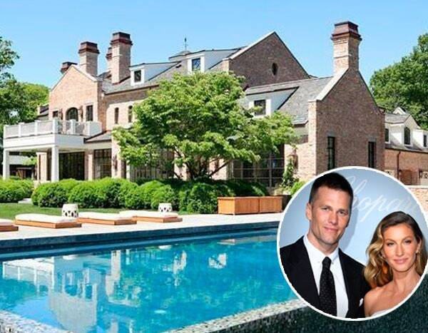 Tom Brady and Gisele Bündchen Just Listed Their Boston Home