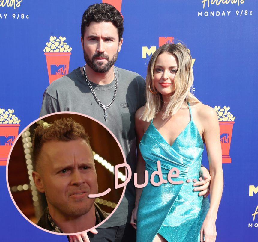 Spencer Pratt: Brody Jenner Was 'Like A Hostage' In His Relationship With Kaitlynn Carter