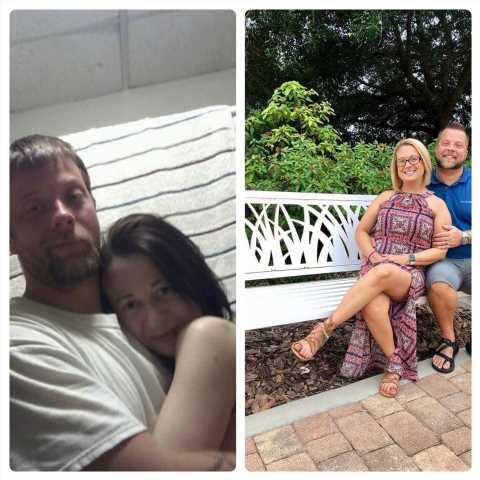 Couple Shares Before and After Photos From Meth Addiction: 'It Is Possible to Recover'