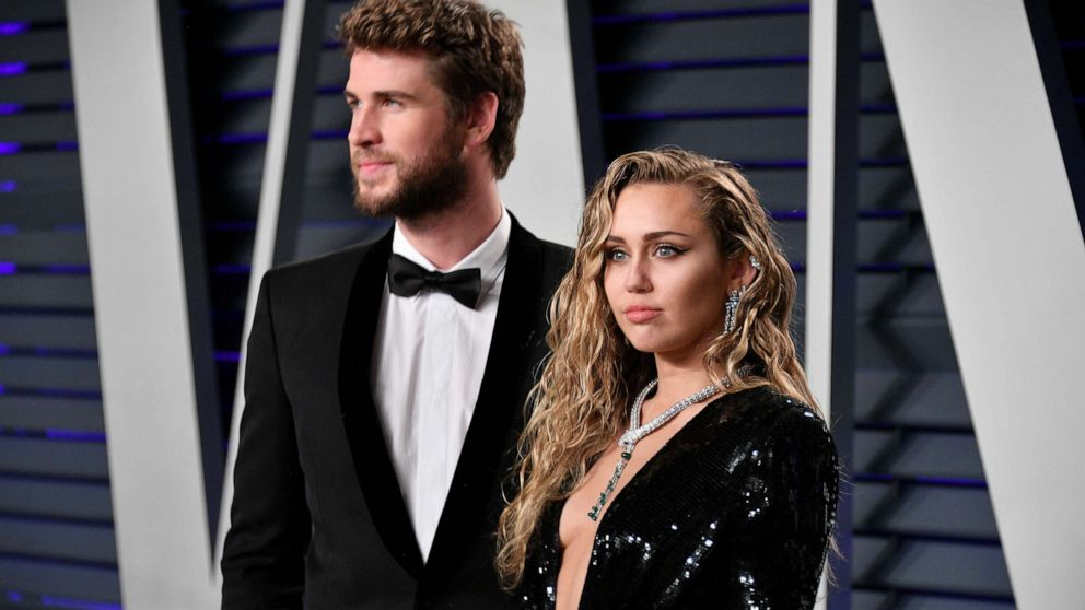 'Ever evolving, changing as partners': Miley Cyrus and Liam Hemsworth split