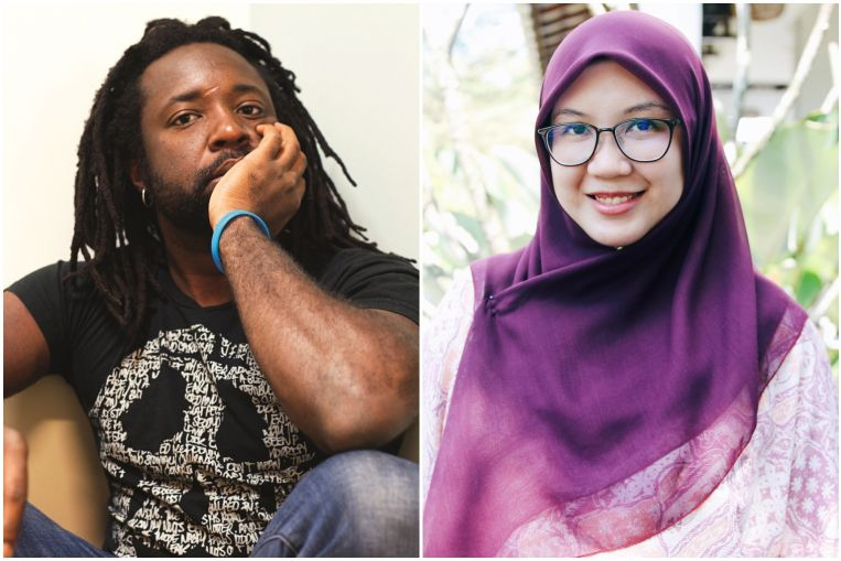 Marlon James, Min Jin Lee and Nicola Yoon at Singapore Writers Festival 2019