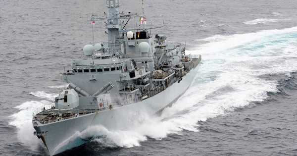 Iranian Navy's sick taunts to Britain after seizing tanker flying the Union Jack