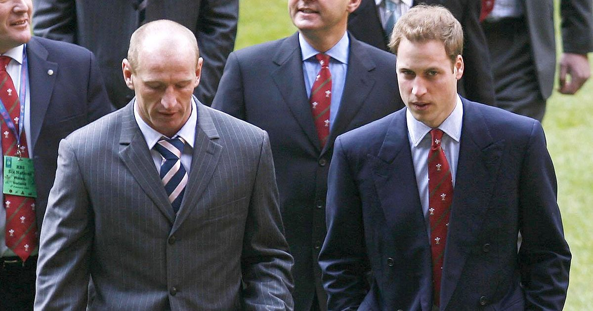 Gareth Thomas praised as 'courageous' by Kate Middleton and Prince William
