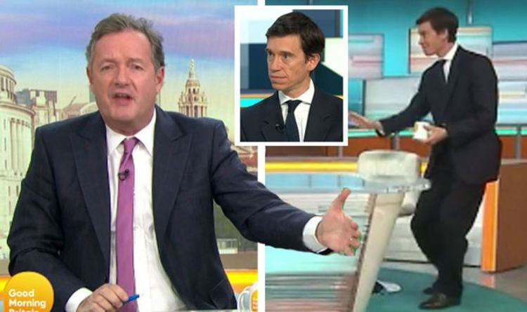 Piers Morgan slams Rory Stewart as he storms off set during ITV GMB interview – 'He's off'