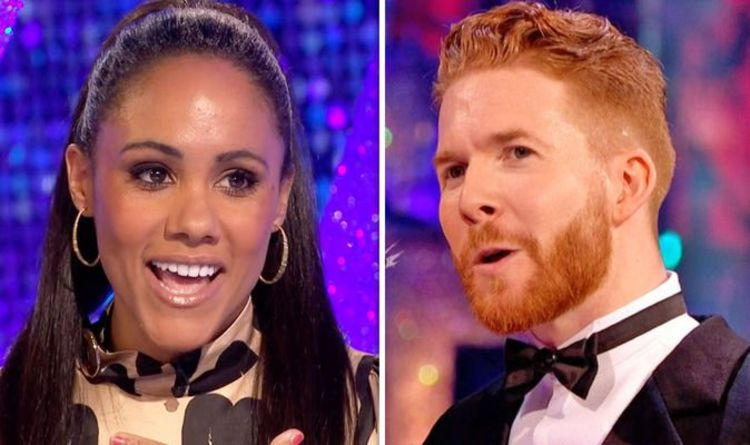 Neil Jones makes deal with Strictly partner Alex Scott after surprising development