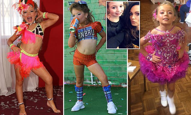Mother spends £9,000 to make daughter's pageant dreams come true