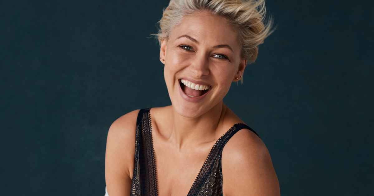Emma Willis shows off gorgeous figure in underwear as she launches lingerie collection for Next