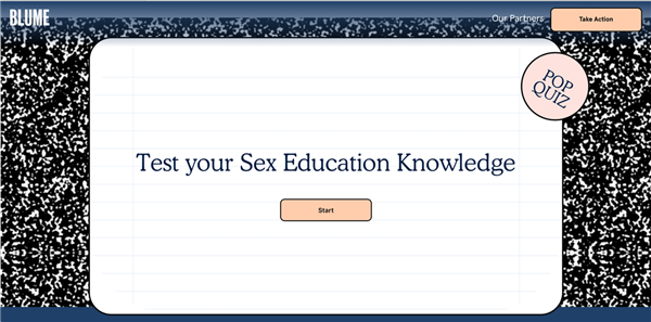 This New Sex Ed Resource Will Test You On What You Should Have Learned In Middle School