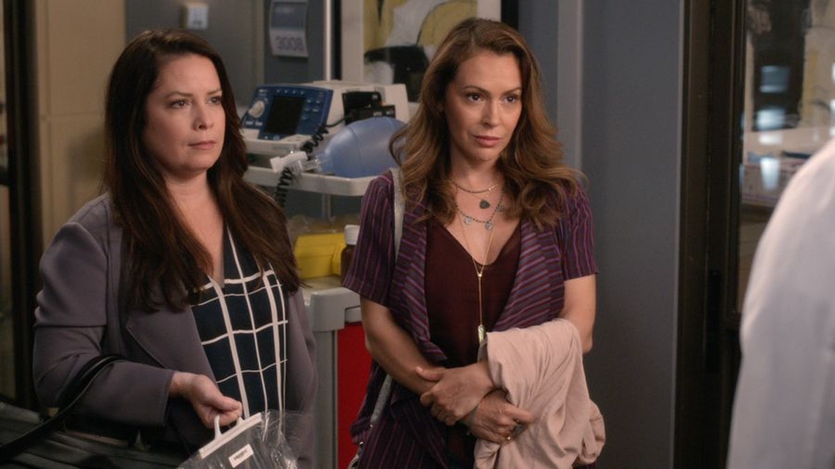 Alyssa Milano and Holly Marie Combs Are Staging A 'Charmed' Reunion On 'Grey's Anatomy'