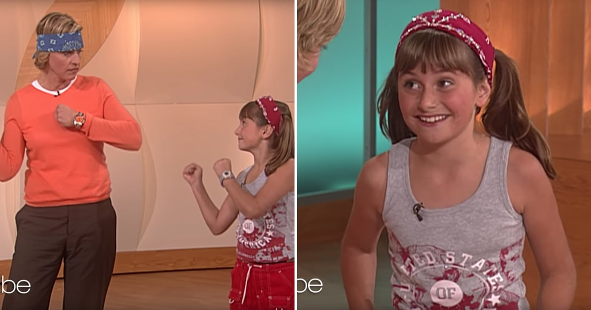 There Are Few Things Cuter Than 10-Year-Old Alyson Stoner Teaching Ellen DeGeneres to Dance