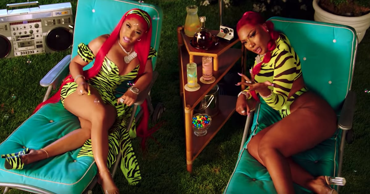 "Of Course Megan Thee Stallion Threw a Sexy Pool Party For the ""Hot Girl Summer"" Video"