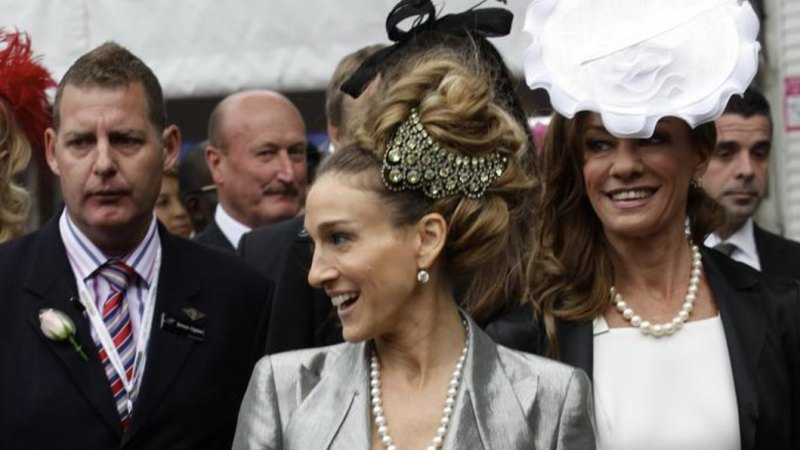 Part Met Gala, part royal wedding: how Aussies lure show ponies to the track