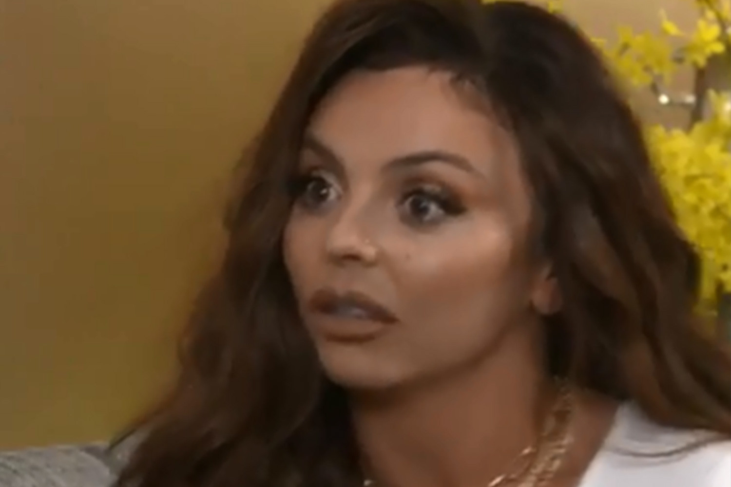 Jesy Nelson begged fans to delete old snaps of her because she 'hated' herself and didn't want Chris Hughes to see them – The Sun
