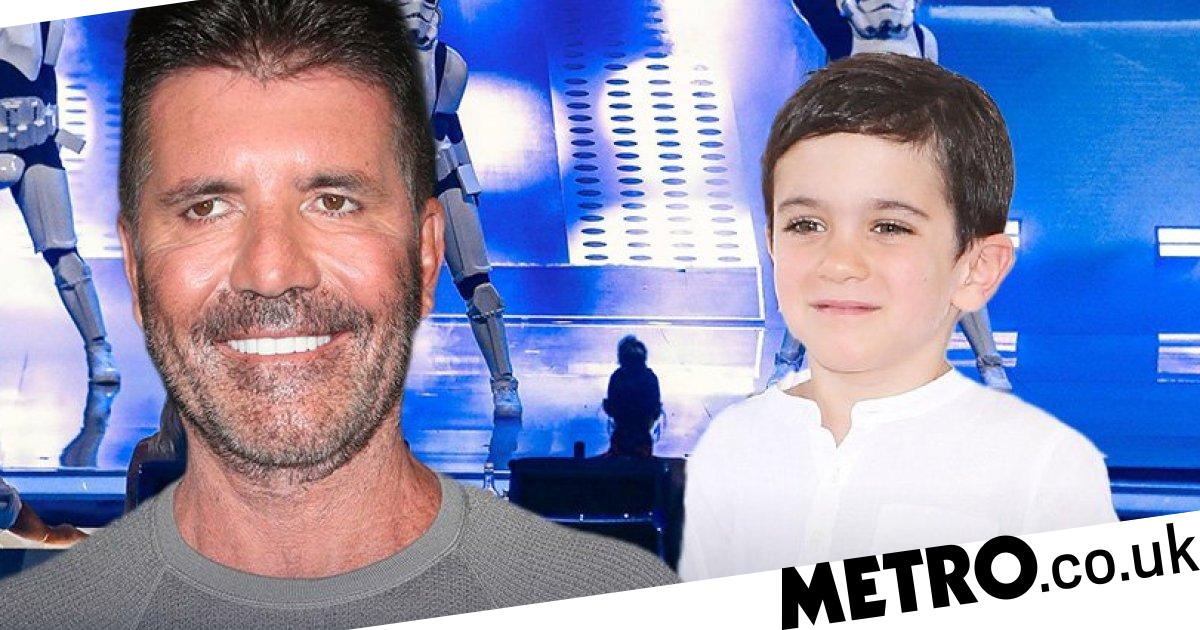 Simon Cowell's son Eric steals show at America's Got Talent final