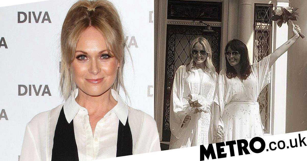 Emmerdale's Michelle Hardwick marries soap producer Kate Brooks in Memphis