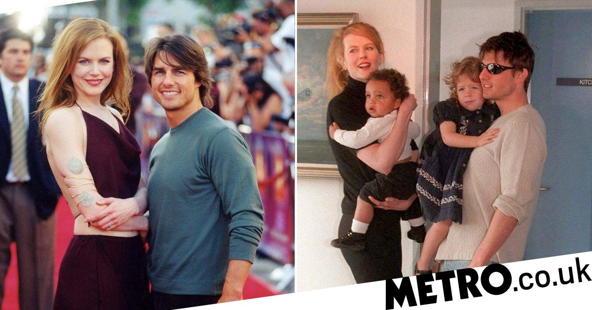 Nicole Kidman says adopted children with Tom Cruise 'chose Scientology'