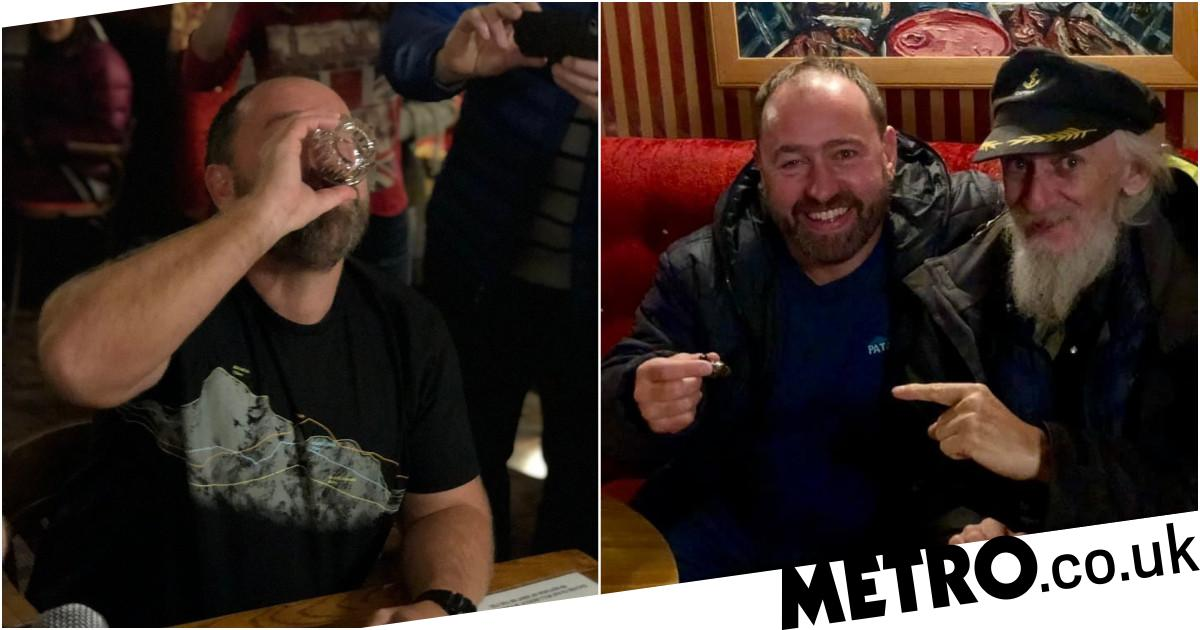 Marine drinks cocktail made out of his own amputated toe