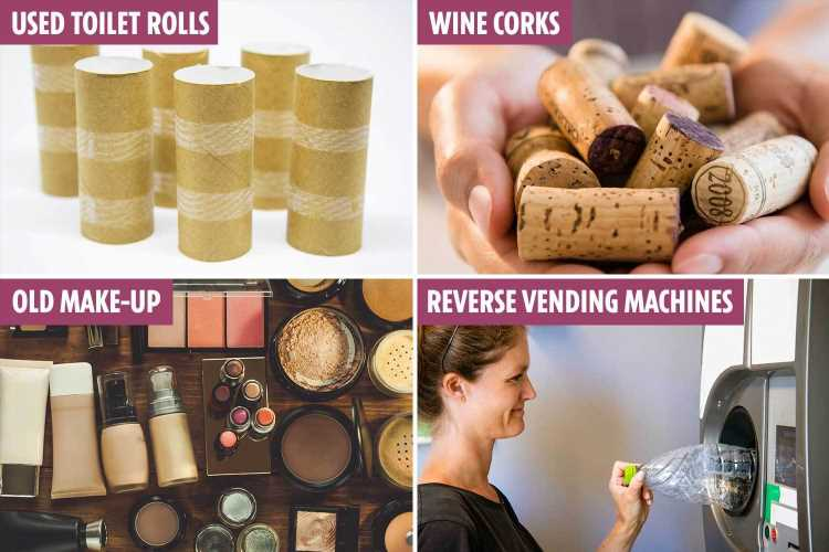 12 ways to turn rubbish into cash, from empty make-up to toilet roll tubes