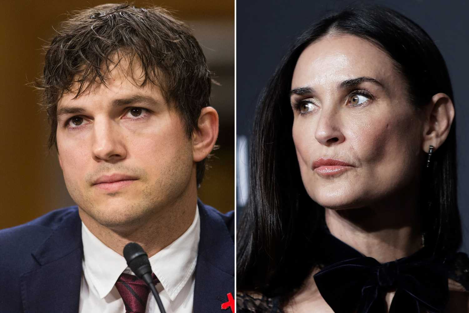 Ashton Kutcher holds back on 'snarky' tweet after Demi Moore's explosive claims