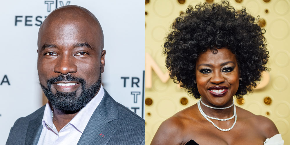 Mike Colter & Viola Davis Are Cousins… And Only Just Met!