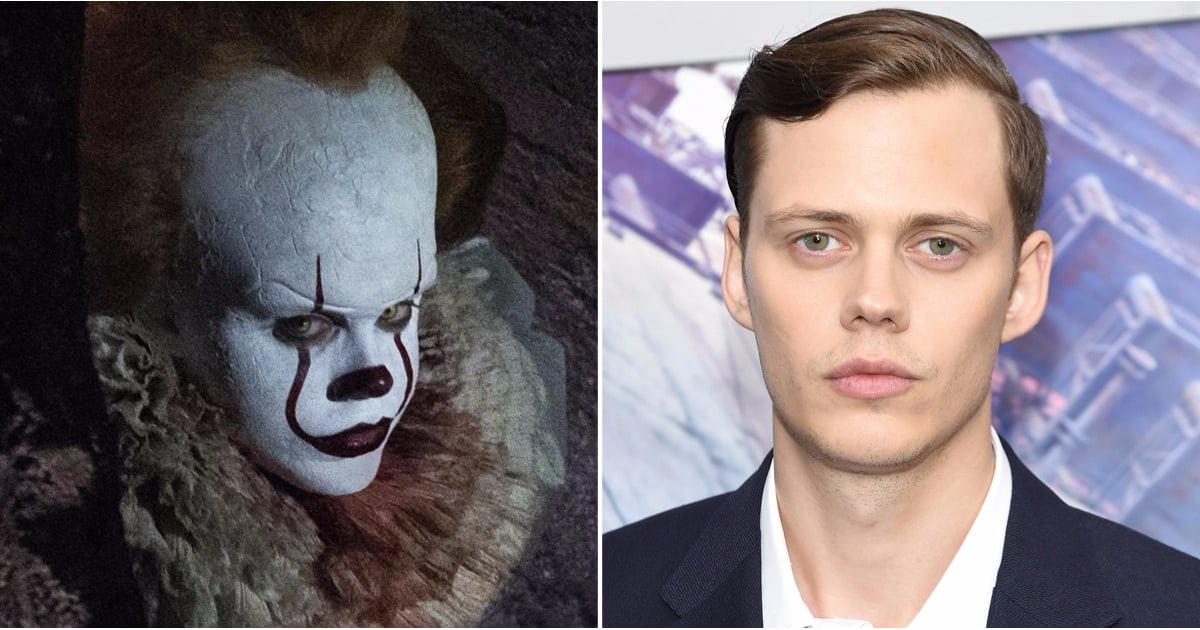 Reminder: This Is What It's Bill Skarsgard Looks Like Under All That Scary Clown Makeup