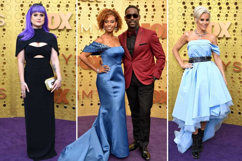 Emmys red carpet 2019 celebrity photos