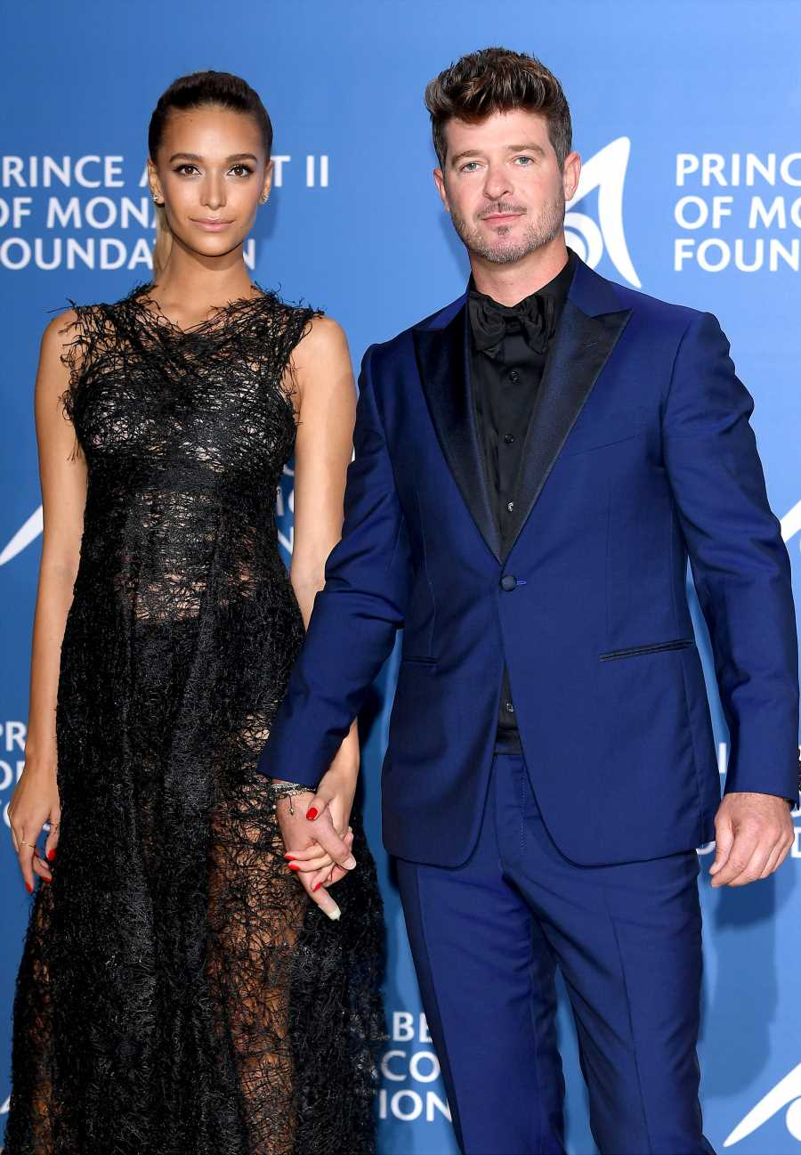 Robin Thicke and Fiancée April Love Geary Involved in Car Accident in Malibu: Report