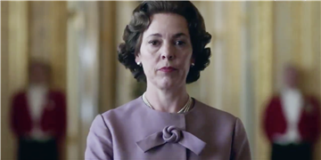 "The Crown's New Teaser Shows Olivia Colman Assessing ""the Great, Many Changes"" as Queen"