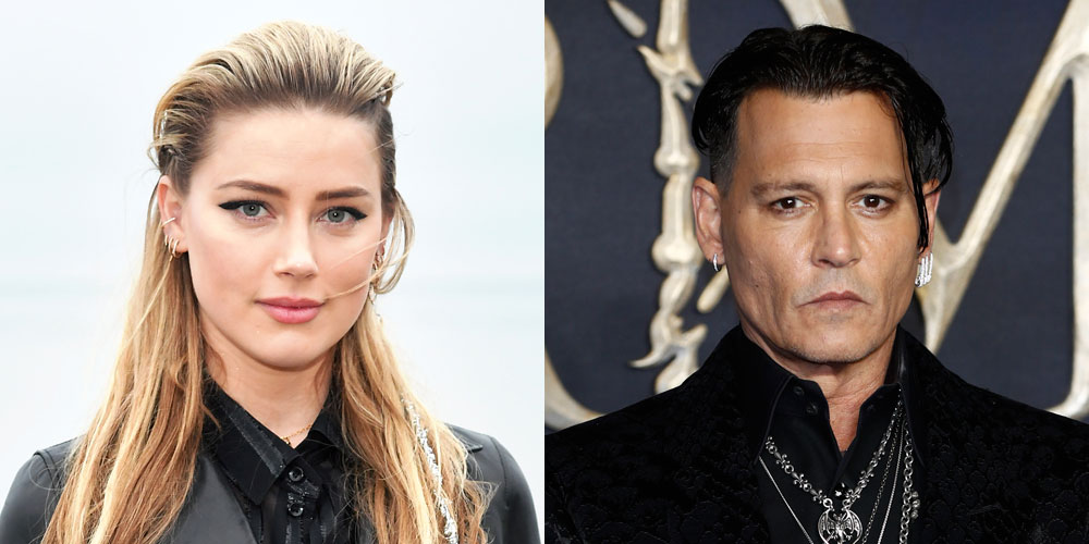Amber Heard Wants Johnny Depp's Defamation Suit Against Her to Be Tossed