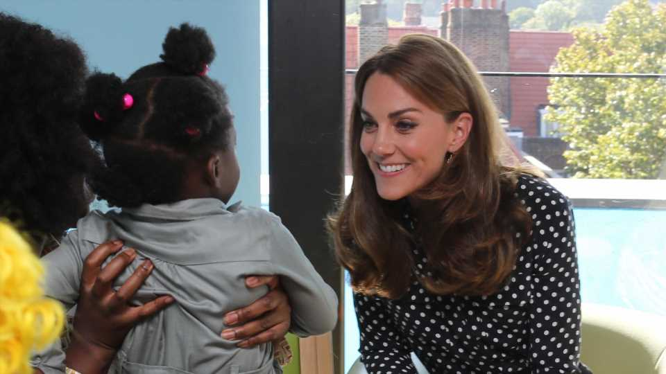 Kate Middleton Makes a Special Visit to Support Young Parents
