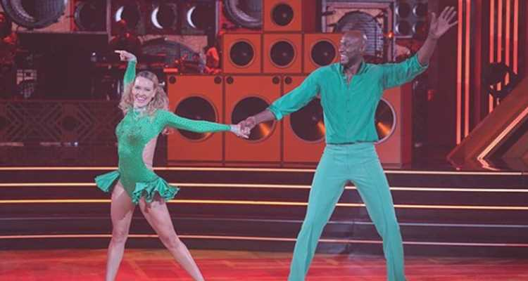 Lamar Odom Shows Off His Salsa During 'DWTS' Week 2 – Watch Now!
