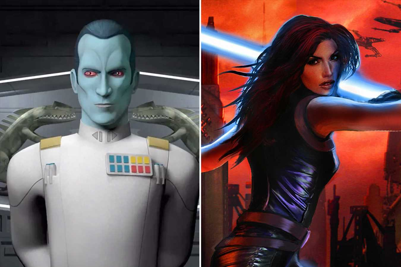 Jon Favreau on whether Thrawn, Mara Jade could be in The Mandalorian