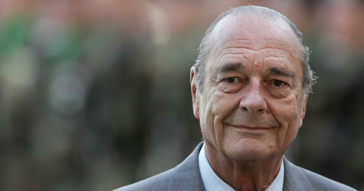 Former French Leader Jacques Chirac Has Died