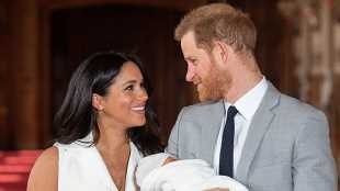 Prince Harry & Meghan Markle Bring Baby Archie to A Bar — No Joke, See The Pics